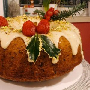 Vegan Bundt Pistachio Cake