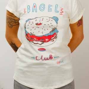 Bagel Club girls tee