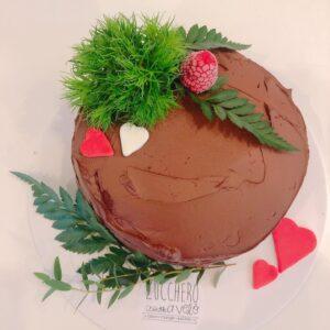 Torta al Cioccolato Love Edition